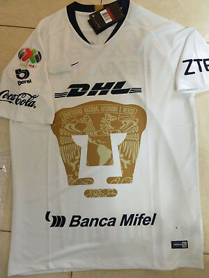 15ca044f9ff 2018-2019 Pumas UNAM Home/Away Soccer Jersey And the LIGA MX patch size