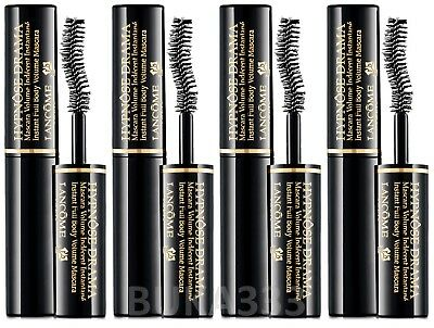 fe3aa9ee7a4 4 x Lancome Hypnose Drama Volume Mascara Excessive Black Travel Size  0.135oz NEW