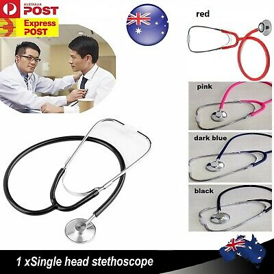 Professional Stethoscope Dual Head Doctor Nurse Vet Student Home Health Work FS