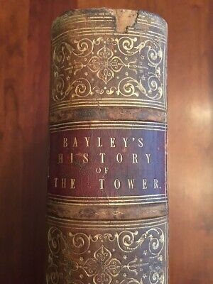 1821-1825 History & Antiquities Of The Tower Of London, PLATES, Bloody Tower 1st