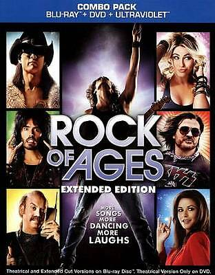 Rock of Ages (Blu-ray Disc, 2012, Extended Edition, Includes Slipcover)