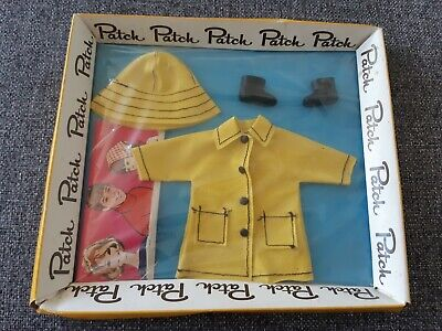NRFB Vintage Patch Doll Outfit Sou' Western Rain Coat Little Sister to Sindy