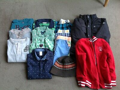 Boys Bulk Clothes Size 6/7 Esprit, Country Road, Pumpkin Patch
