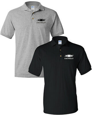 Chevy Logo T Shirt  Chevrolet Bowtie  Men's Polo Shirt