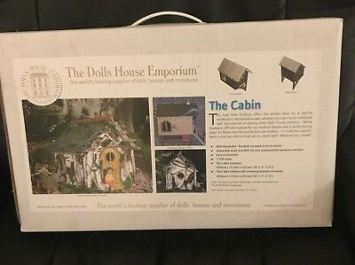Dolls House Emporium .. The Cabin .. Flatpack Kit