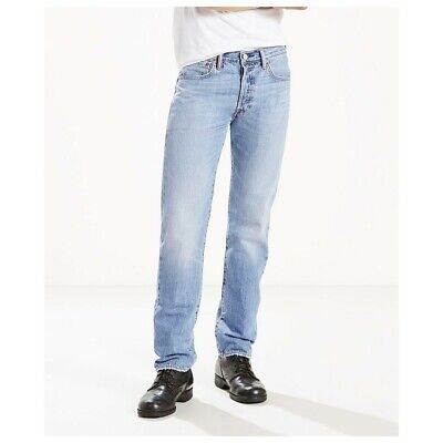 Levi's 501 Men's Cool performance Straight Leg Button Fly Jeans Size: 30 x 32