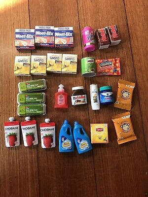 Coles Little Shop Mini Collectables