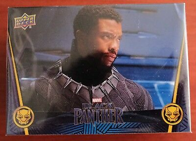 MARVEL Black Panther Movie Upper Deck - 2018 TRADING CARDS - BASE SET