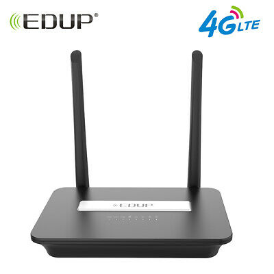 EDUP 4G LTE FDD Wireless WiFi CPE Router 300Mbps N Mobile Hotspot  With LAN Port