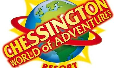 Chessington world of adventure tickets x 2