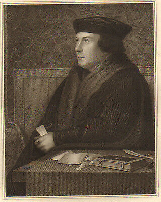 1815 Dated Large Georgian Print ~ Thomas Cromwell ~ Earl Of Elser