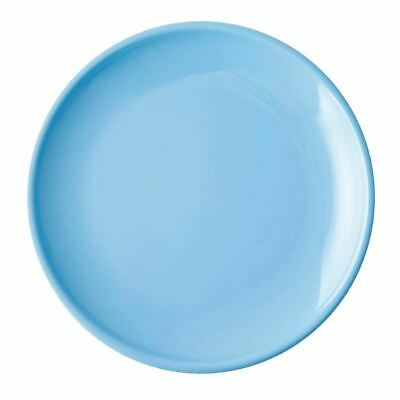 Olympia Cafe Coupe Plate in Stoneware - Blue - 205(Ø) mm - 12 pc