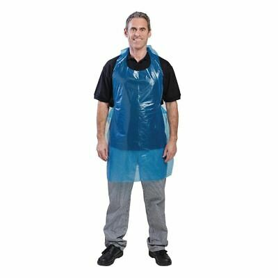 Unisex Professional Apron - Lightweight - in Blue Size OS