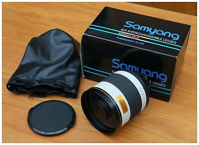 Samyang 800mm F8.0 SLR interchangeable Lenses, to fit for Canon.