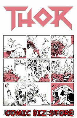Thor #11 (2019) 1St Printing Fuji Cat Variant Cover Bagged & Boarded Marvel