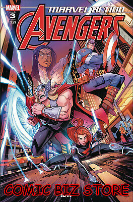 Marvel Action Avengers #3 (2019) 1St Printing Sommarvia Main Cover Marvel/idw