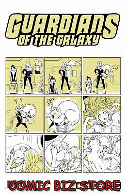 Guardians Of The Galaxy #3 (2019) 1St Printing Fuji Cat Variant Cover Marvel