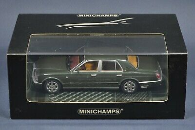 1/43 Bentley Arnage R green Red Label 2002 MINICHAMPS 436139002 Rare IN BOX