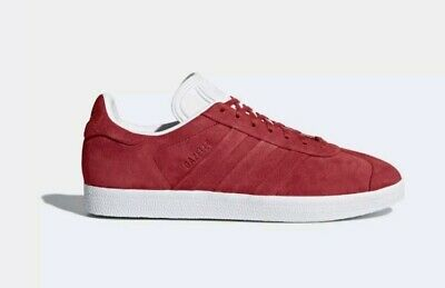 Adidas Gazelle Stitch And Turn Red Mens Womens Youth Sizes 5 - 13