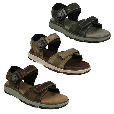 de11e7159615 Mens Clarks Leather Unstructured Casual Beach Size Summer Sandals Un Trek  Part