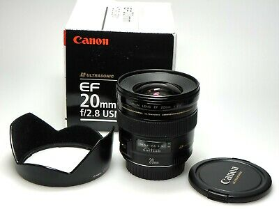 Canon EF 20 mm F/2.8 USM  BOXED