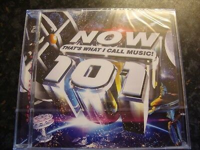 Now That's What I Call Music 101 CD Album  ** Brand New 2 CD Album/Sealed **