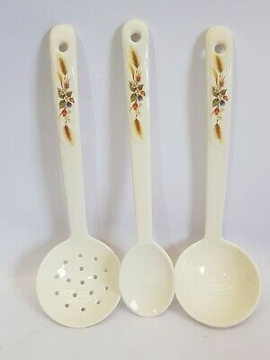 marks and spencer harvest melamine utensil set 3 items