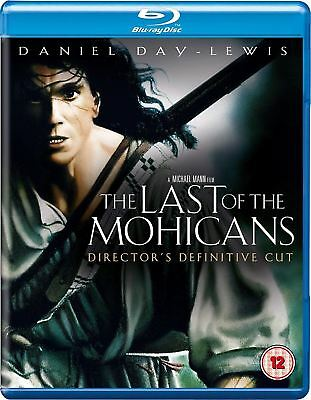 The Last of the Mohicans (Blu-ray Disc, 2010) Daniel Day-Lewis NEW