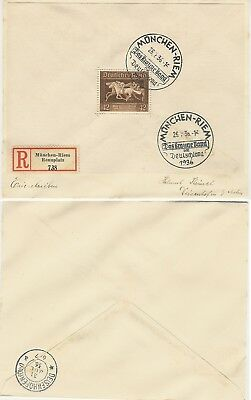 GERMANY 1936,1940/41, covers Postal history(x3),3rd Reich, v.f. & as per scans