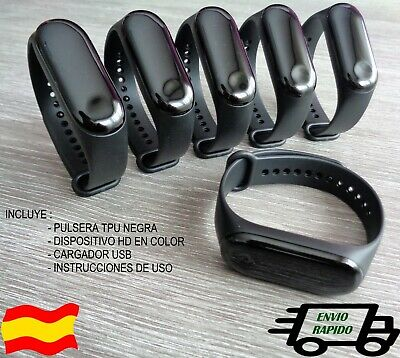 Smart Band M3 Pulsera Inteligente Negro Android IPhone bluetooth fitness Mi 3