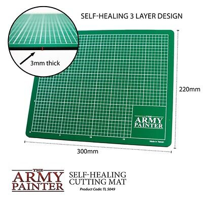 The Army Painter: Self-healing Cutting Mat Schneidematte *NEU & OVP*