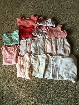 Baby Clothes Girls Bundle 0-1 Month