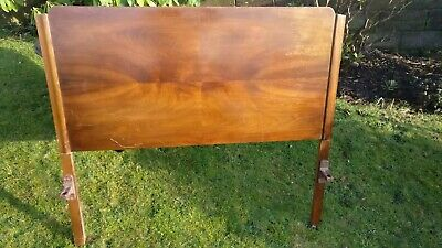 ***ORIGINAL**** 1930s/1940s*** Wooden Small-Double Bedstead 120cm wide!!