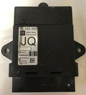 Vauxhall Vectra C D/S Right Door Module 13 193 368 Jq **Breaking Car**