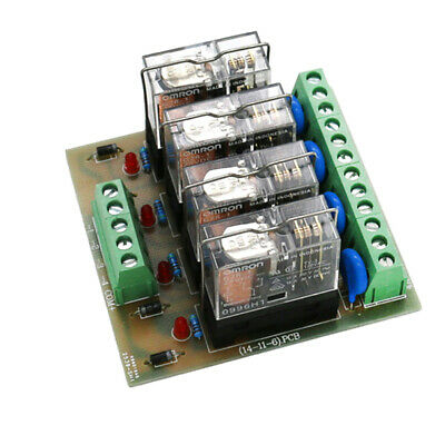 4 WAY RELAY Module Four Panels Driver Board Module DC 24V