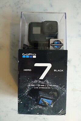 GoPro HERO7 Action Camera - Black + 32GB Micro SD & Adapter - Barely Used