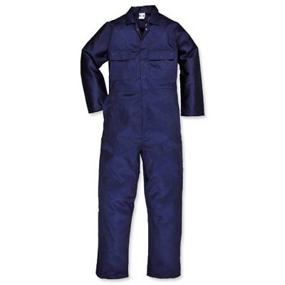 Portwest Boilersuit S999 NARM Euro Work Polycotton Coverall Medium Navy Size L