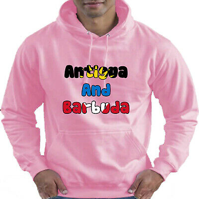 Antigua and Barbuda Flag Childrens Childs Kids Boys Girls Hoodie Hooded Top