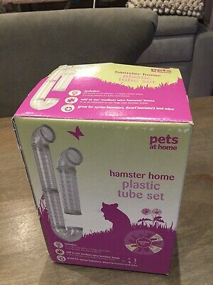 Pets At Home Hamster Cage Plastic Tube Set - New