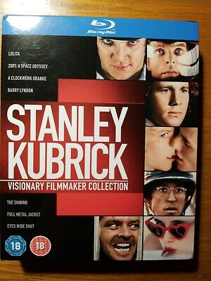 Stanley kubrick collection blu ray 7 Films