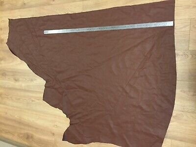 Victoria brown Real Leather Upholstery Hide 13 sq ft Bag 1.1mm wsh3s