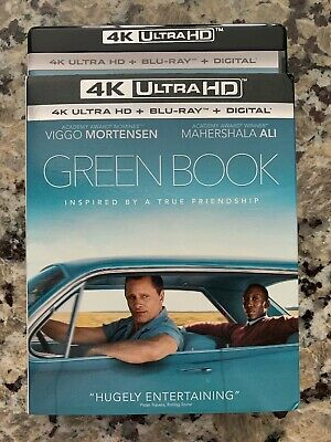 Green Book 4K Ultra HD, Blu-ray, DVD BRAND NEW 4K UHD 2019 No Digital