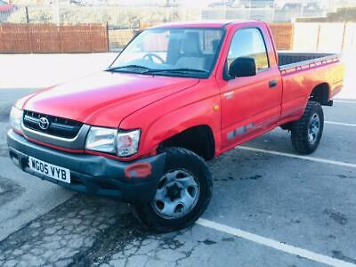 2005 Toyota Hilux 250 Ex 2.5 D4D Manual Single Cab Pickup Long Mot Solid Chassis