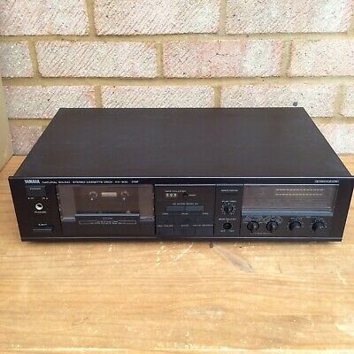Vintage Yamaha KX 300 Black Cassette Deck In Great Condition