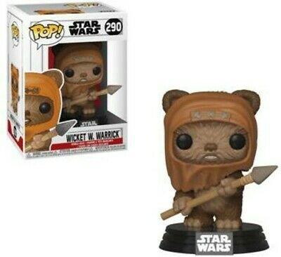 Wicket - Funko Pop! Star Wars: (2019, Toy NUEVO)