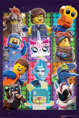 The Lego Movie 2 (Some Assembly Required) Maxi Poster PP34459 size 91.5 x 61cm