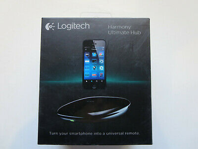 Logitech Harmony Smart Control Hub and Remote Control 915-000216