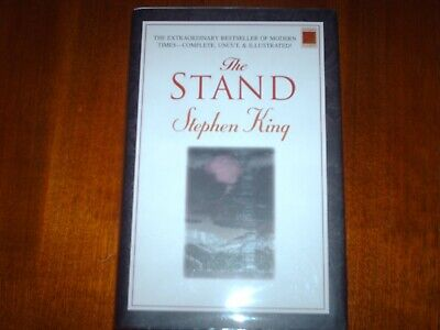 The Stand by Stephen King First Thus Edition Illustrated 2001 HCDJ 1st Printing