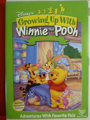 Growing Up With Winnie The Pooh Friends Forever DVD Bilingual
