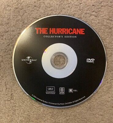 The Hurricane (DVD Only, 2000) Denzel Washington - Ships No Tracking
